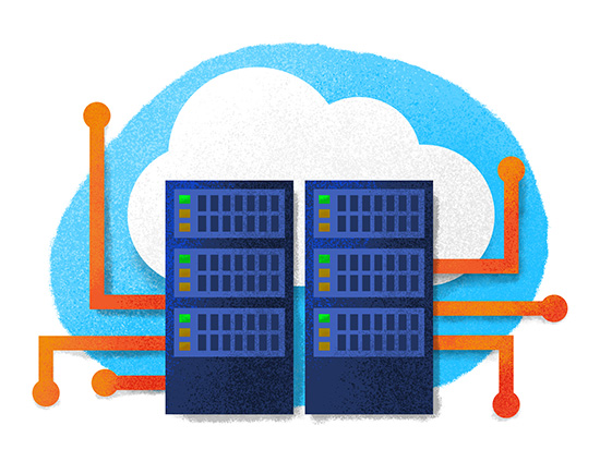 Data center, data cloud